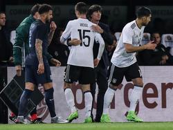 Julian Weigl verletzte sich im Spiel gegen England
