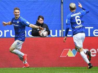 Darmstadt hat sich gegen den HSV durchgesetzt