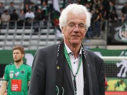 Wacker-Präsident Gerhard Stocker arbeitet an der Entschuldung des Vereins