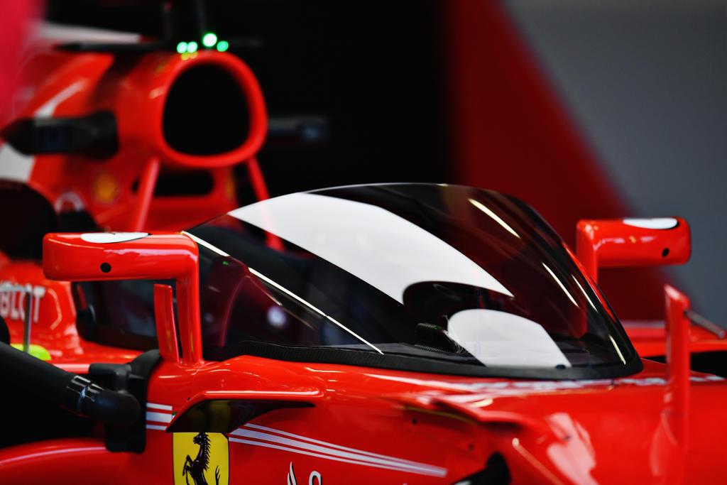 """Vettel testet """"Shield"""""""