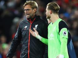 Lorius Karius (r.) spricht über sein erstes Liverpool-Jahr mit Klopp