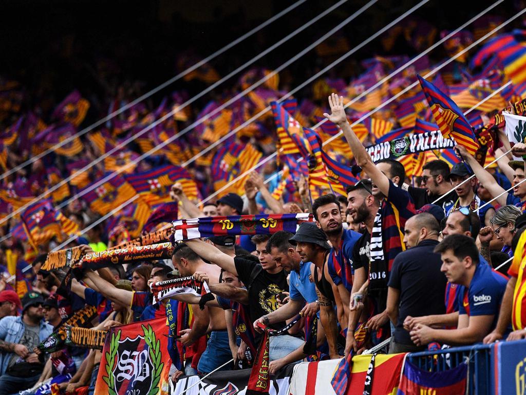 Die Fans des FC Barcelona sind über den Wechsel von Neymar nicht glücklich