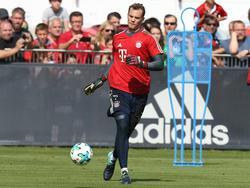 Steht kurz vor dem Comeback: Manuel Neuer