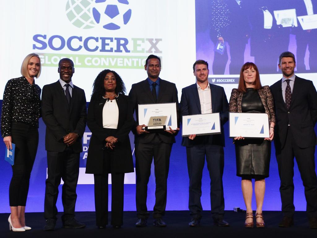 Die FIFA vergibt erstmals die Auszeichnung für Vielfalt
