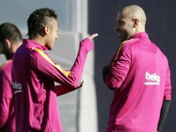 Neymar und Mascherano bleiben Barcelona treu