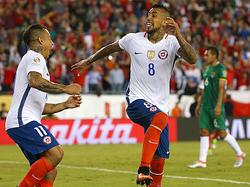 Arturo Vidal ist der Star der Chilenen