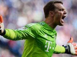 Neuer estará de baja dos partidos. (Foto: Getty)