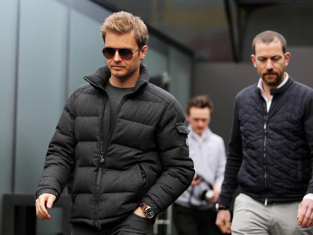 Nico Rosberg (l.) wird von den F1-Fans kaum vermisst