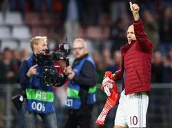 Arjen Robben ist der Star der niederländischen Nationalmannschaft