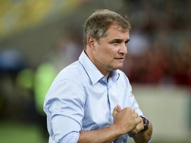 Aguirre abandona la nave de Almagro sin conseguir el objetivo de la Libertadores. (Foto: Imago)