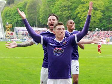 Mario Kvesić schoss Aue zum Sieg gegen Kaiserslautern