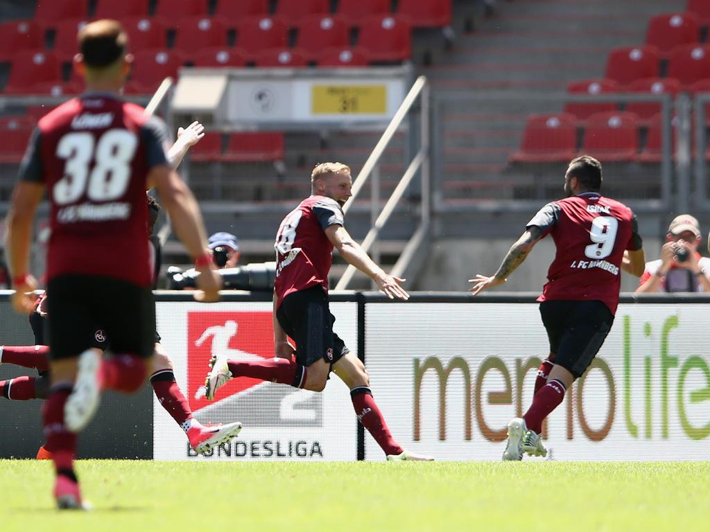 Bundesliga: Nürnberg schlägt Kaiserslautern 3:0