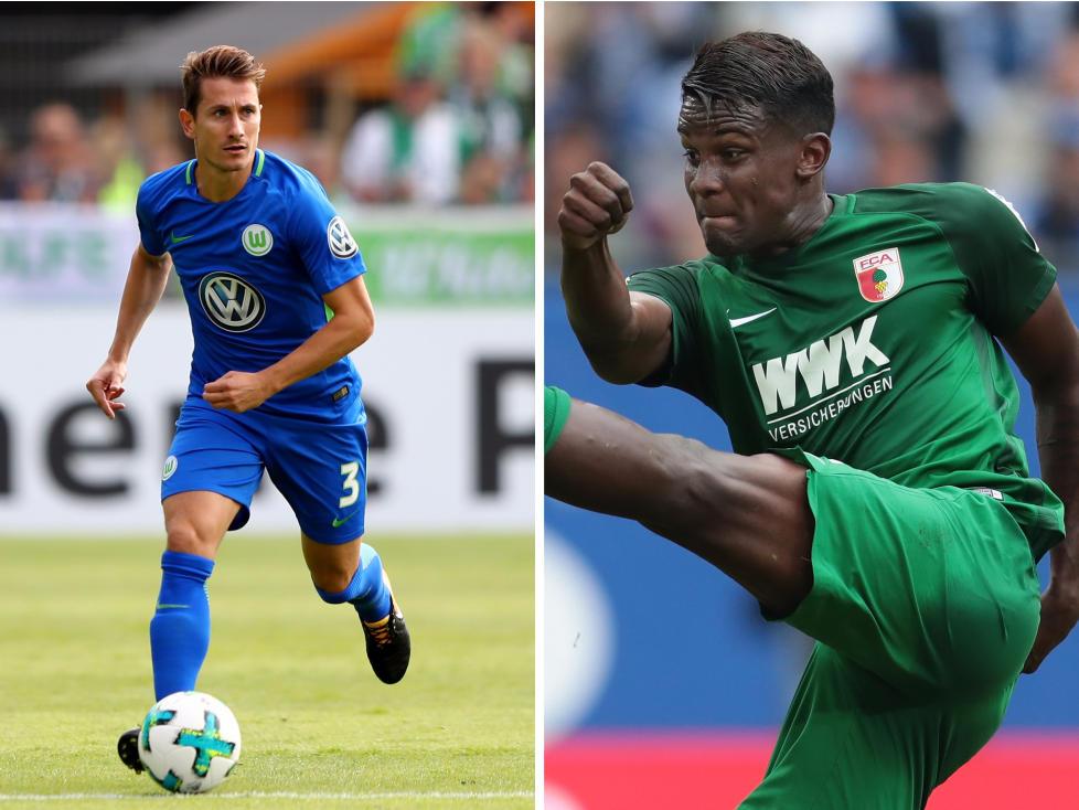 FC Augsburg: Top-Abgang: Paul Verhaegh; Top-Zugang: Sergio Córdova