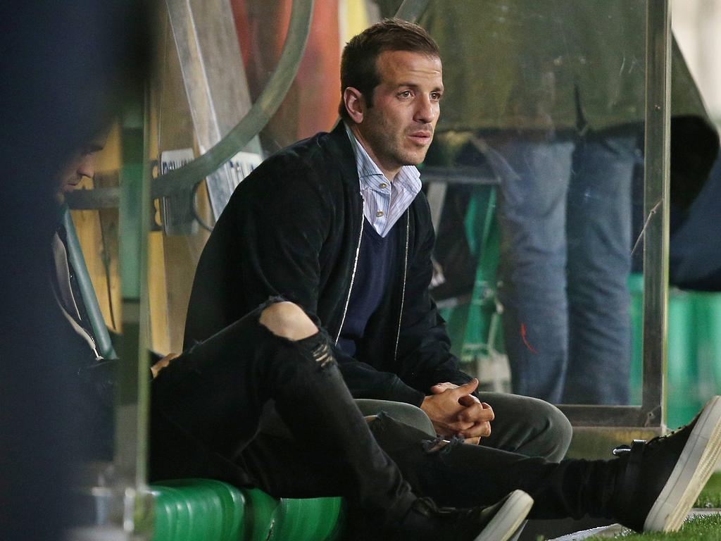 Rafael van der Vaart will bald wieder auf dem Platz stehen