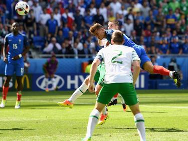 Antoine Giezmann hat mit dem Ausgleichstreffer gegen Irland für kollektiven Jubel gesorgt
