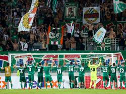 Rapid durfte sich zum Auftakt der Europa League über einen 3:2-Heimsieg gegen KRC Genk freuen