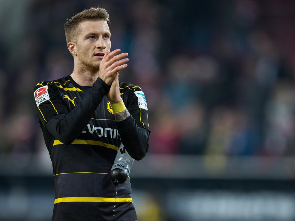 Marco Reus verpasste die vergangenen vier Spiele von Borussia Dortmund