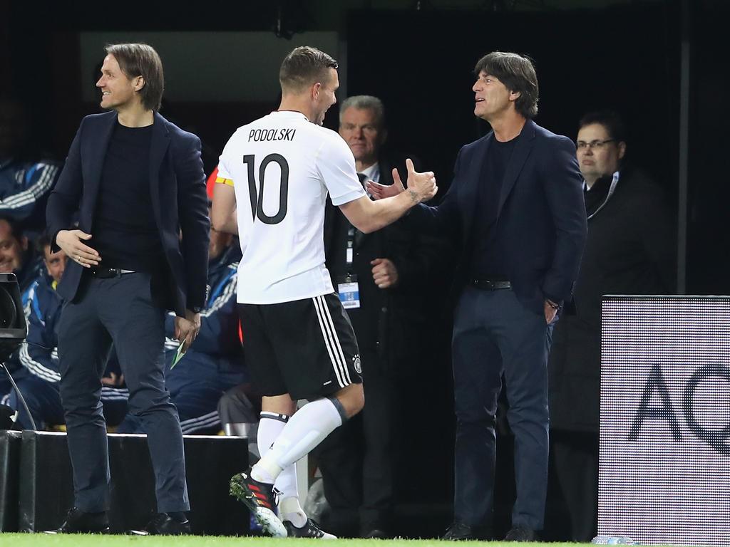 Podolski: Traumtor zum Abschied