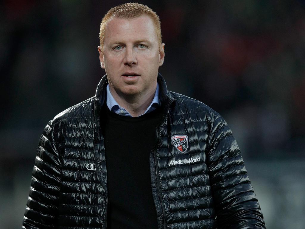 Ingolstadts Trainer Maik Walpurgis hofft auf einen Sieg gegen Bremen