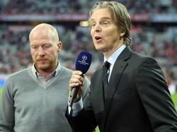 Jan Åge Fjørtoft (r.) möchte sich auf seinen Job als TV-Experte konzentrieren