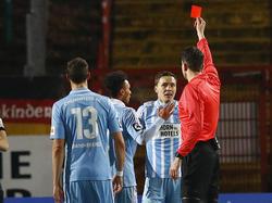 Alexander Bittroff sah im Spiel gegen Preußen Münster die rote Karte