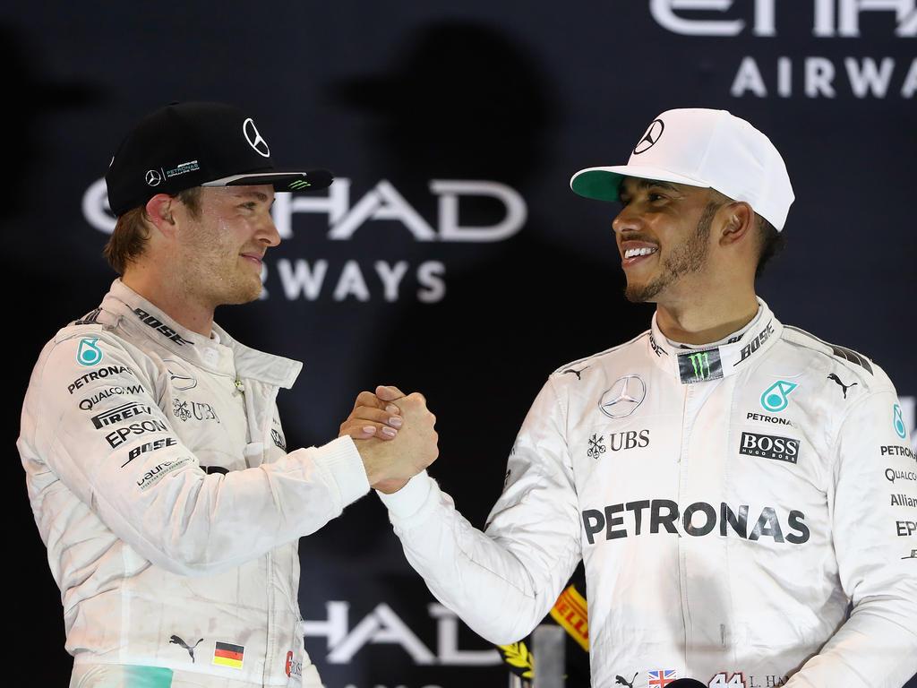 Formel 1: Barcelona-Splitter - Rosberg jagte Hamilton durch London