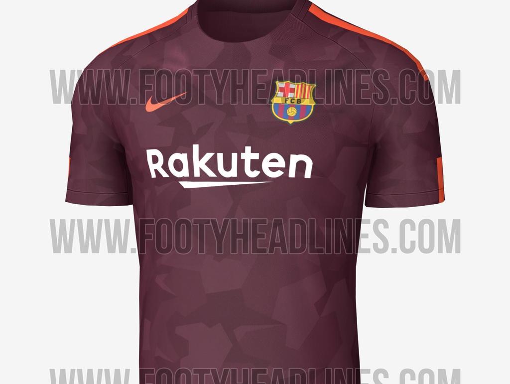 FC Barcelona (Drittes Trikot/Leak)