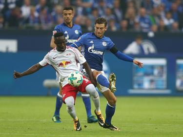Keïta (l.) und Goretzka trafen am ersten Spieltag mit ihren Teams aufeinander