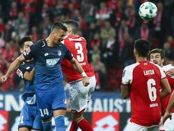 Sandro Wagner köpfte in Mainz das zwischenzeitliche 2:2