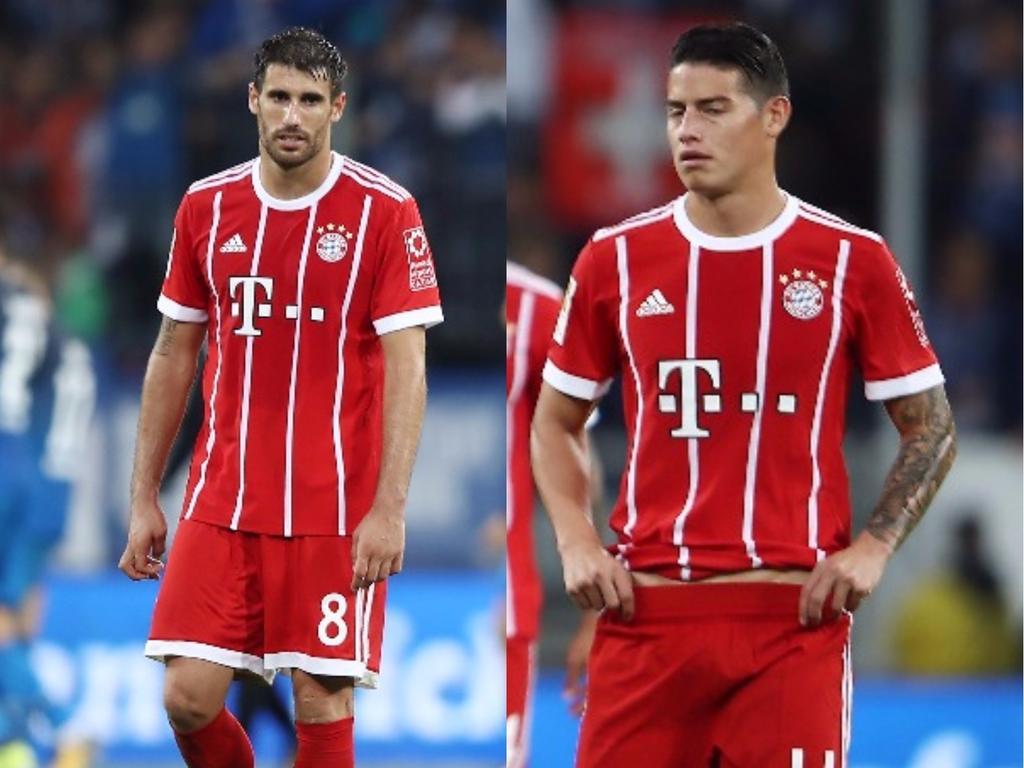 Javi Martinez berichtet, dass James vom Ancelotti-Rauswurf geschockt sei
