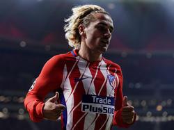 Antoine Griezmann bleibt zumindest bis zum Saisonende bei Atlético