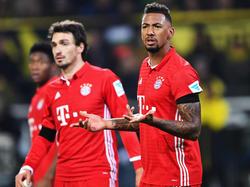 Jérôme Boateng (r.) fehlt dem FC Bayern genauso wie Mats Hummels