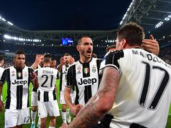 Juventus Turin feiert den Einzug ins Champions-League-Finale