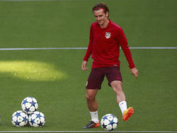Antoine Griezmann reagierte auf die Transfersperre für Atlético Madrid