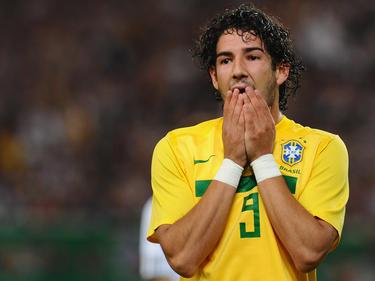 Alexandre Patos Tage in der Seleção liegen schon etwas zurück