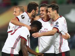 El Milan tiene puestas muchas ilusiones en la Europa League. (Foto: Getty)