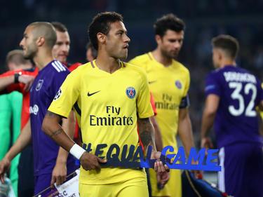 Neymar war offenbar mit dem Training von Unai Emery unzufrieden