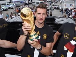 Große Ehre für WM-Rekordtorschützen Miroslav Klose
