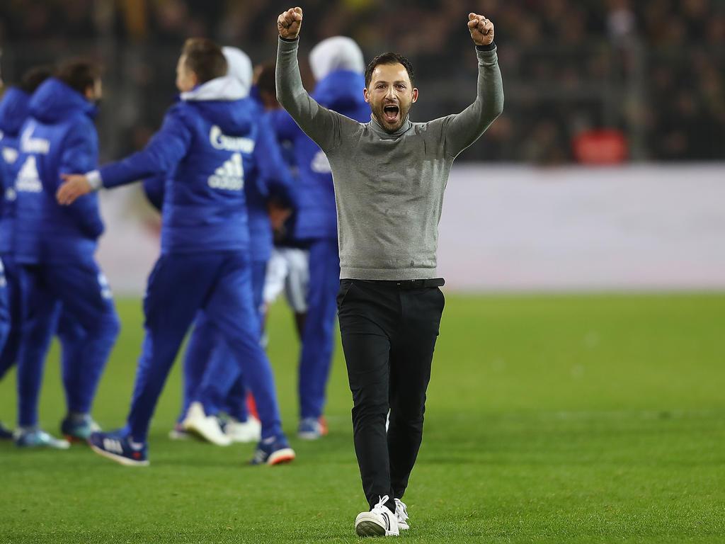 SPORT BILD enthüllt Klausel So verlängert sich Tedescos Schalke-Vertrag