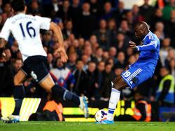 Demba Ba schoss sich gegen die Spurs den ganzen Frust von der Seele