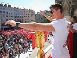 Robert Lewandowski bleibt wohl beim FC Bayern