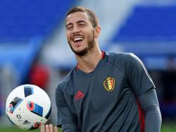 Eden Hazard ist Belgiens Kapitän und Spielmacher