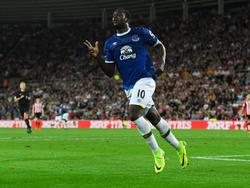 Der Held des Abends zeigt es an: Romelu Lukaku traf in Sunderland dreifach