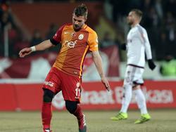 Lukas Podolski ist mit Galatasaray aus dem Pokal geflogen