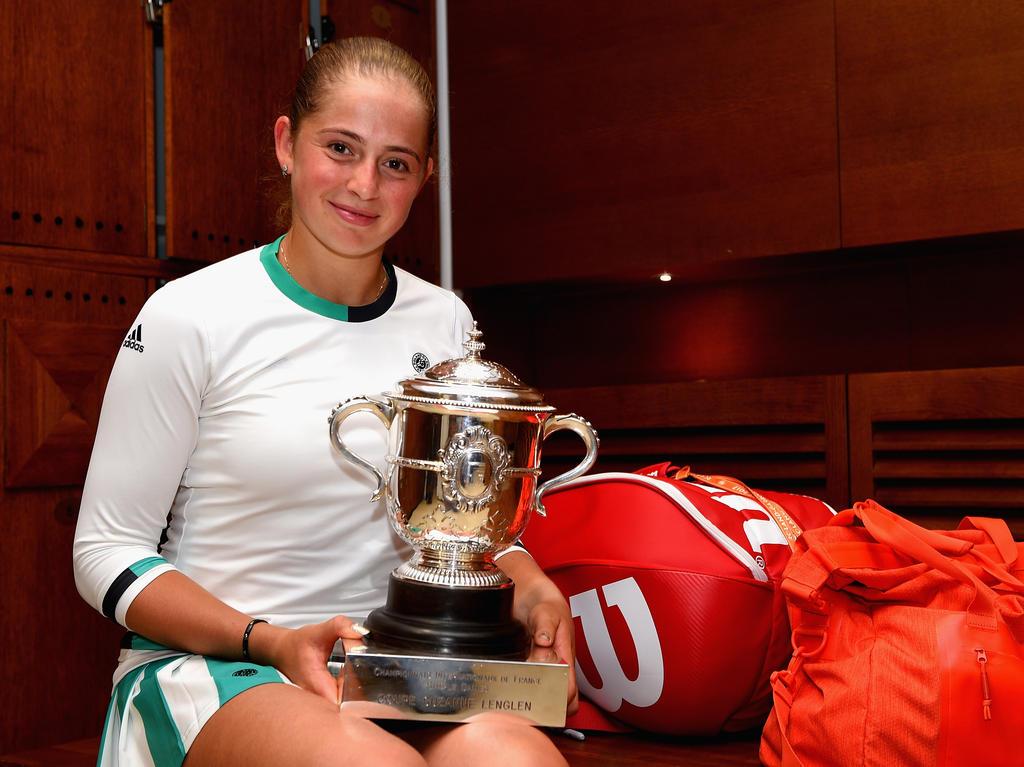 Platz 10 (-): Jelena Ostapenko - 3502 Punkte