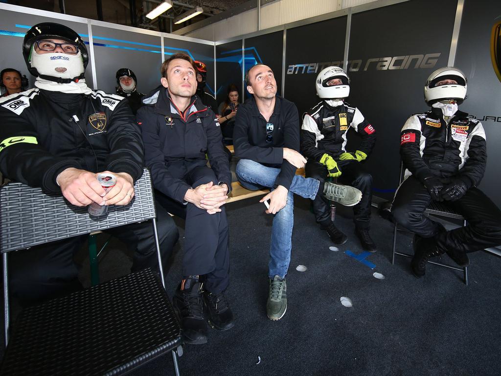 Robert Kubica (Mitte) liebäugelt mit einem Comeback in der Formel 1