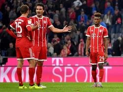 Der FC Bayern hadert mit der zweiten Halbzeit