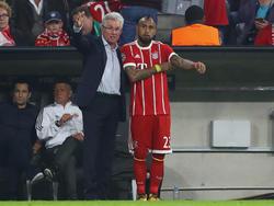 Arturo Vidal befindet sich derzeit in einem Form-Loch - daran konnte auch Trainer Heynckes nichts ändern