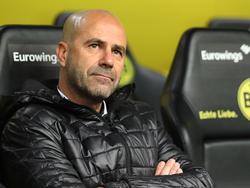 Peter Bosz und die Borussia aus Dortmund wollen in Madrid auf Sieg spielen