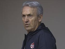 Benito Floro en una imagen de archivo como seleccionador canadiense. (Foto: Imago)